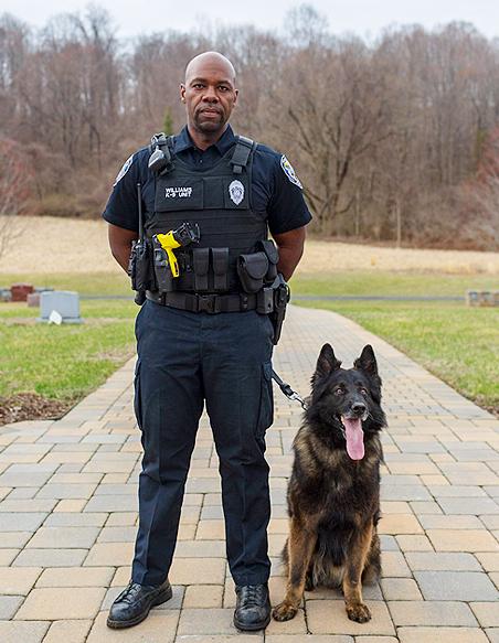 Officer Williams K-9 Drake