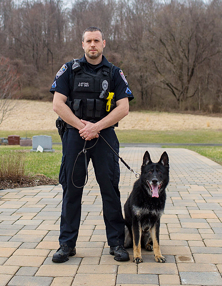 Officer Lafond K-9 Kira